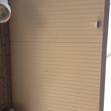 たつの市 外壁塗装 塗り替え工事 軒天部分 施工後